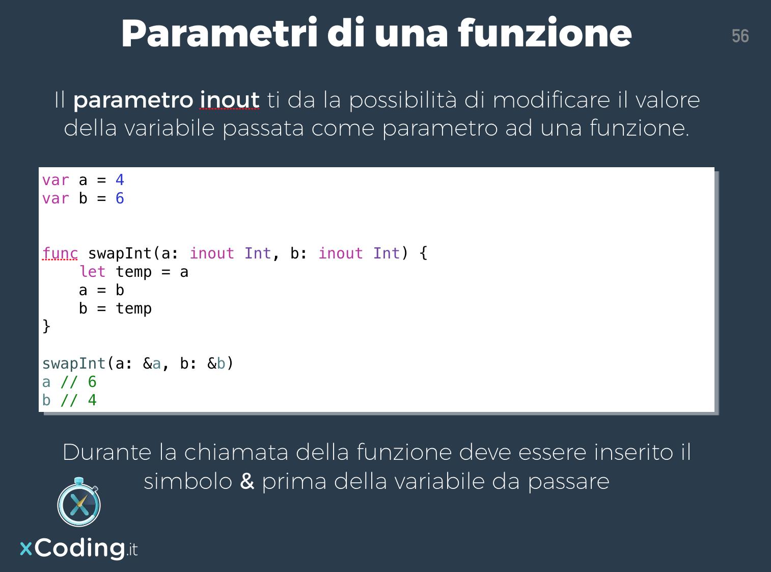 parametro-inout-linguaggio-swift