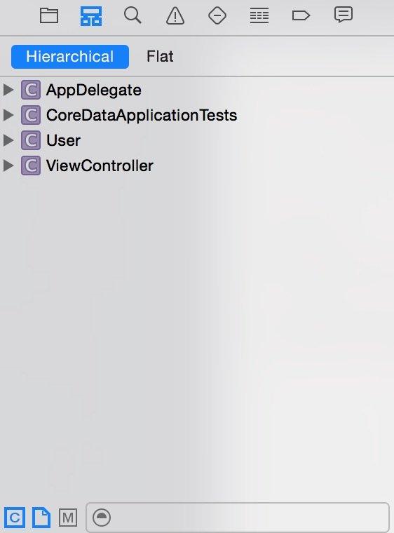Symbol Navigator Xcode 6