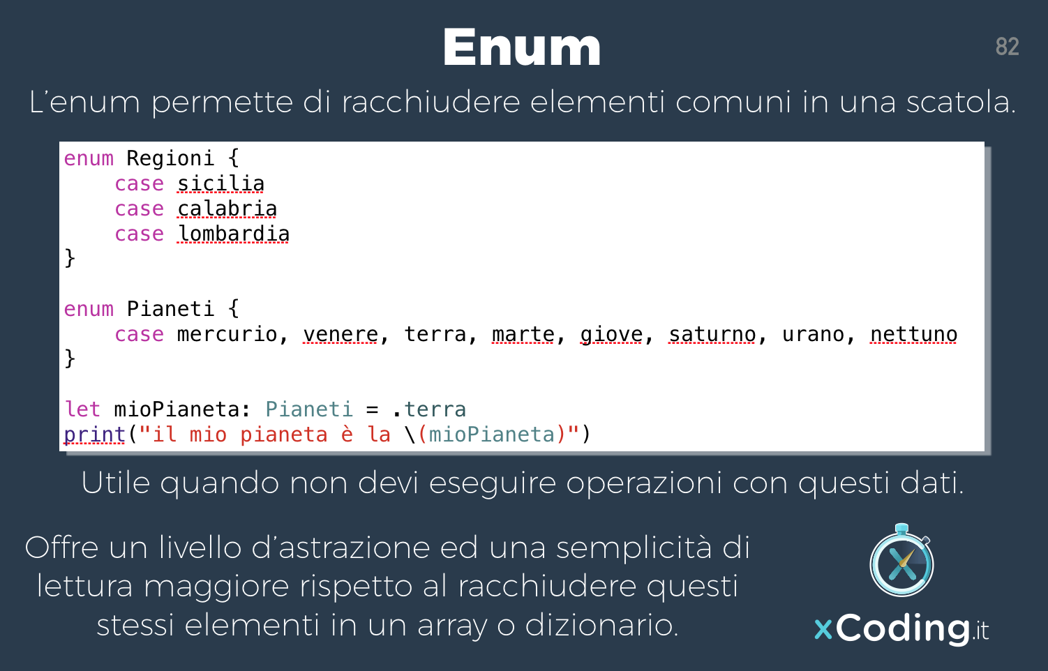 enum-linguaggio-swift