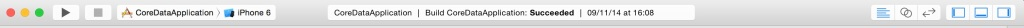 toolbar Xcode 6