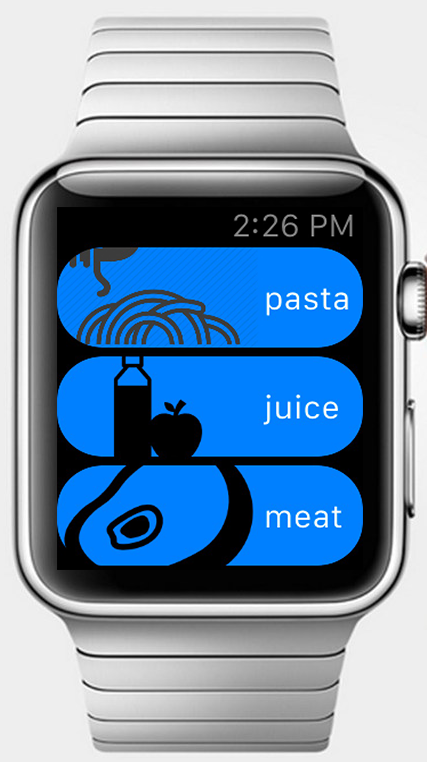 Apple Watch Simple Table View Apple Watch