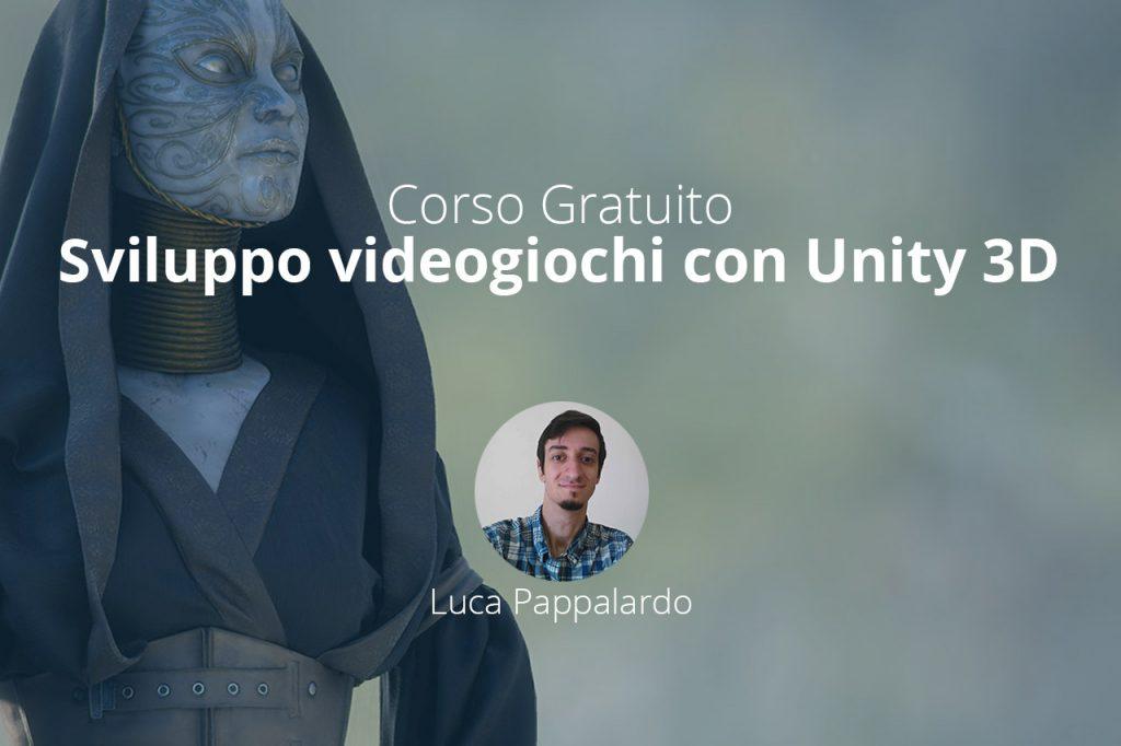 corso gratuito sviluppo giochi con unity 3d