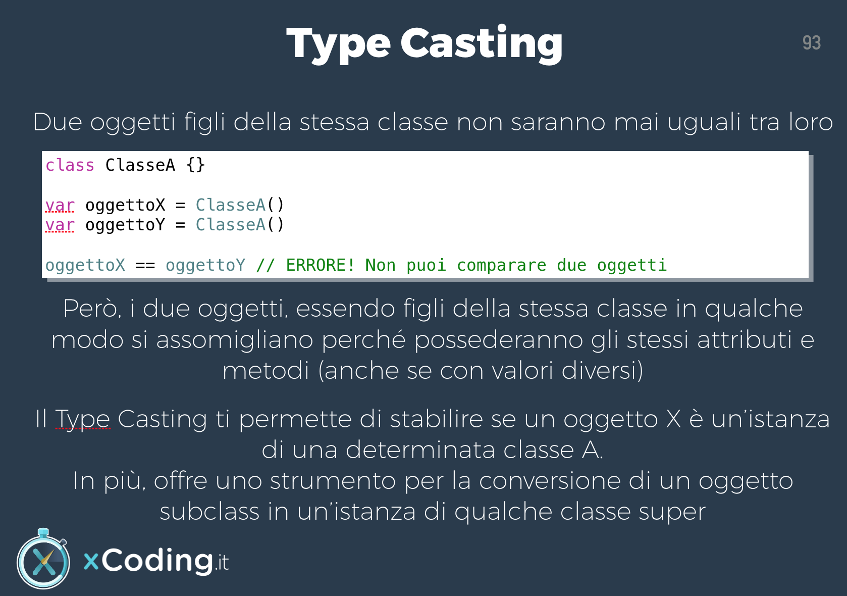 Type Casting in Swift