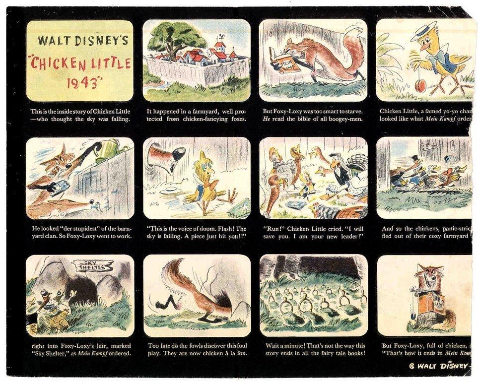 esempio storyboard disney