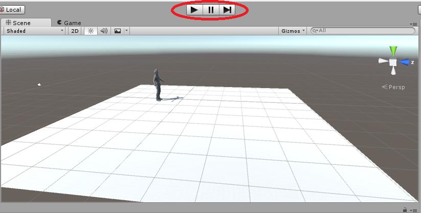 guida interfaccia Unity 3d