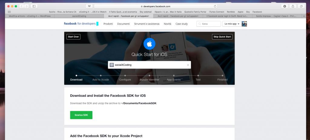 Facebook - Procedura Guidata