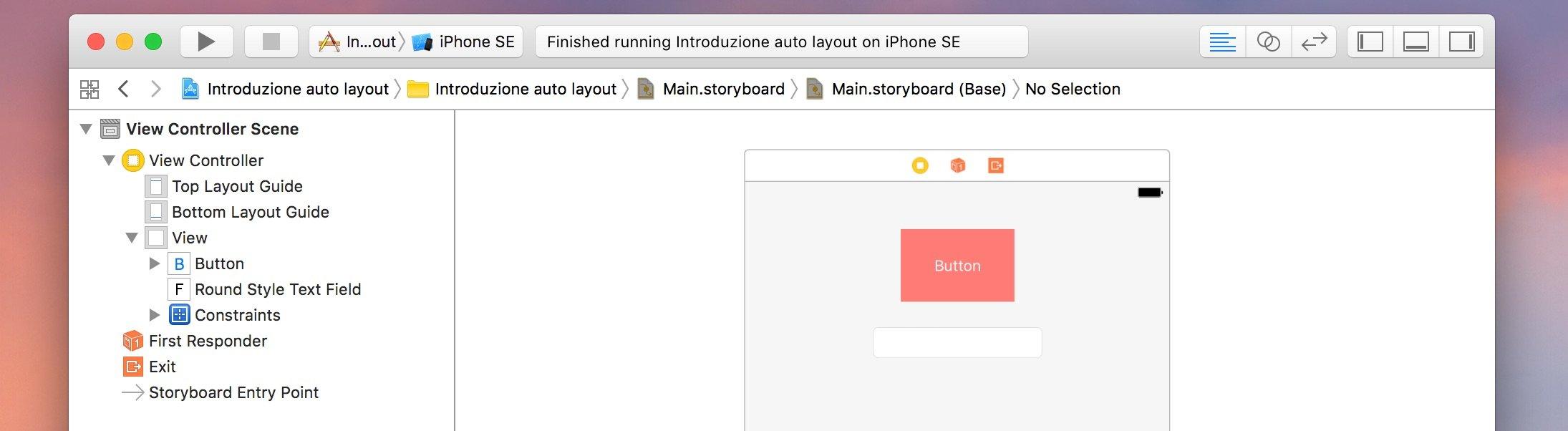 esempio-vincoli-auto-layout-tra-piu-oggetti-xcode
