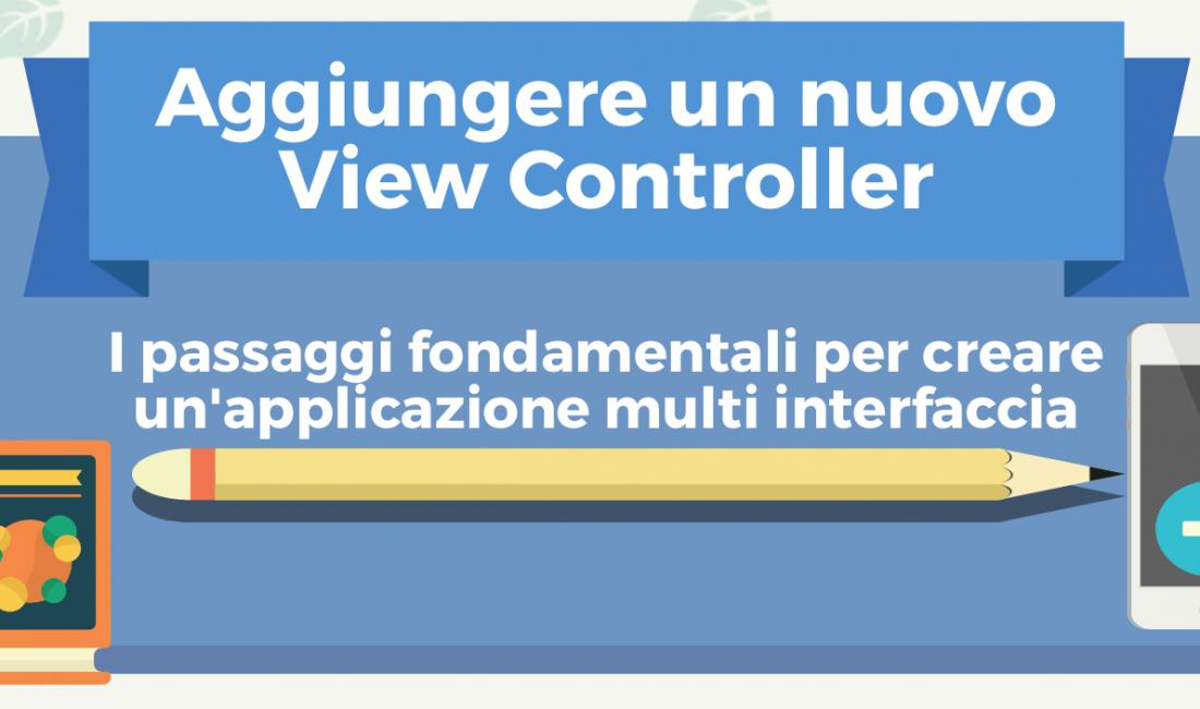 Aggiungere un nuovo ViewController