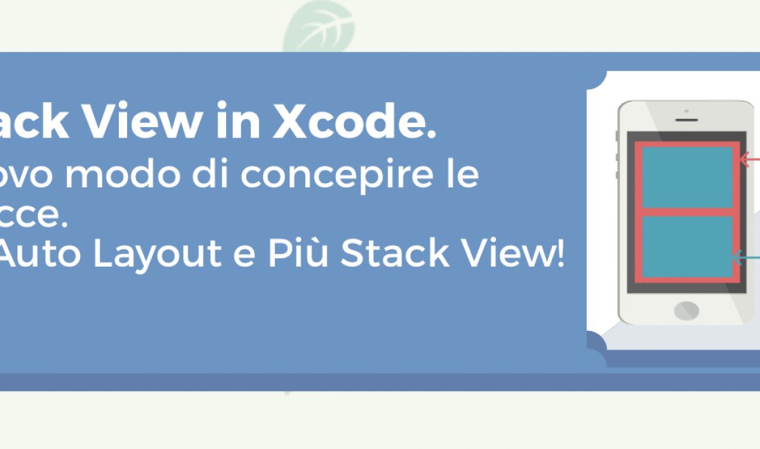 Le Stack View in Xcode