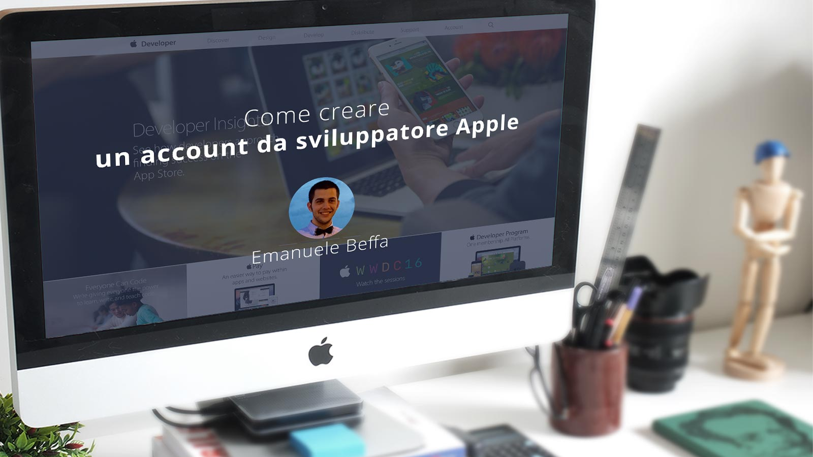 Come creare un account da sviluppatore Apple