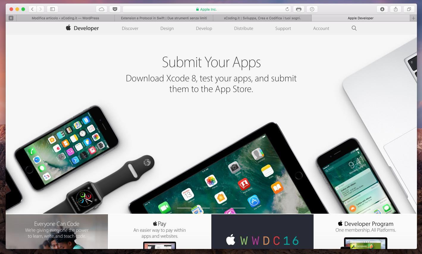 come-creare-un-account-sviluppatore-apple