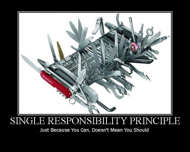 principio di singola responsabilità