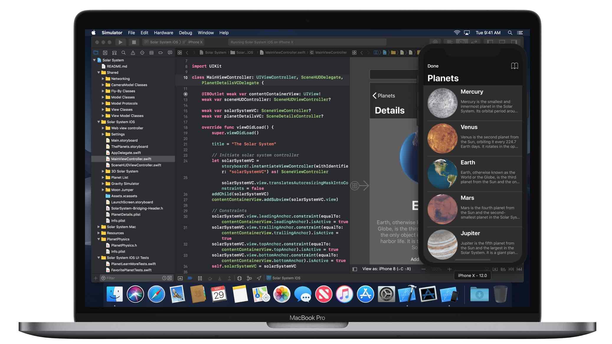 dark mode Xcode 10