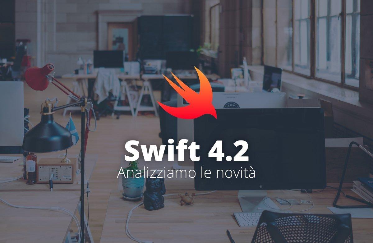 Le novità del linguaggio swift 4.2