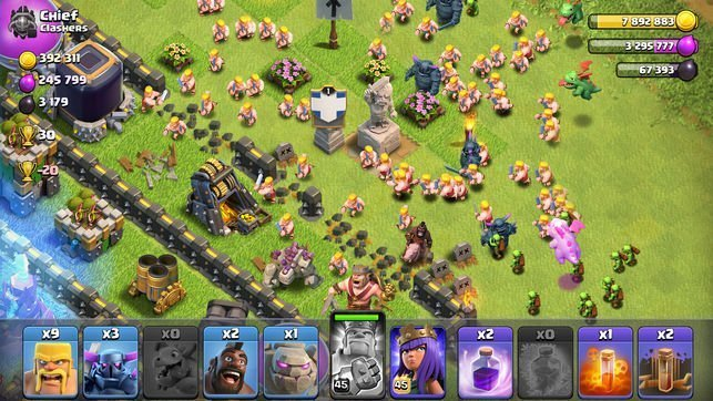 clash of clans case study app marketing