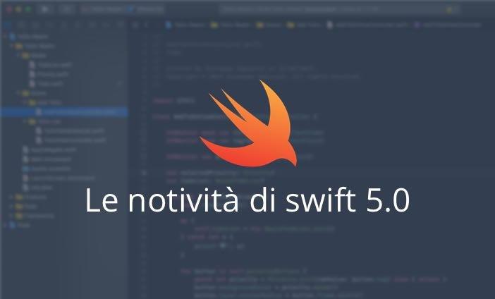 le novità del linguaggio swift 5